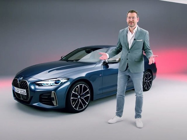 Video: 2020 BMW 4 Series styling explained by BMW Head of Design