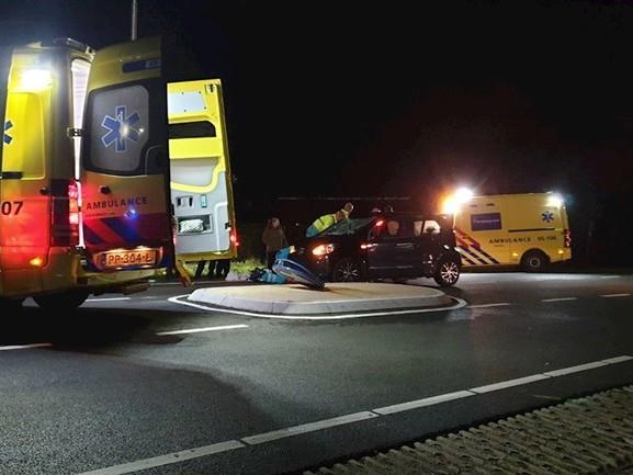 Fietser gewond bij aanrijding in Deurningen