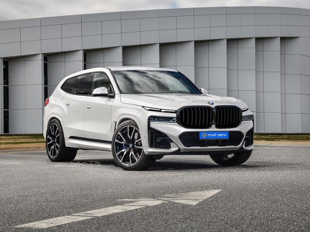 2023 BMW XM getting close to unveil date, rendered again