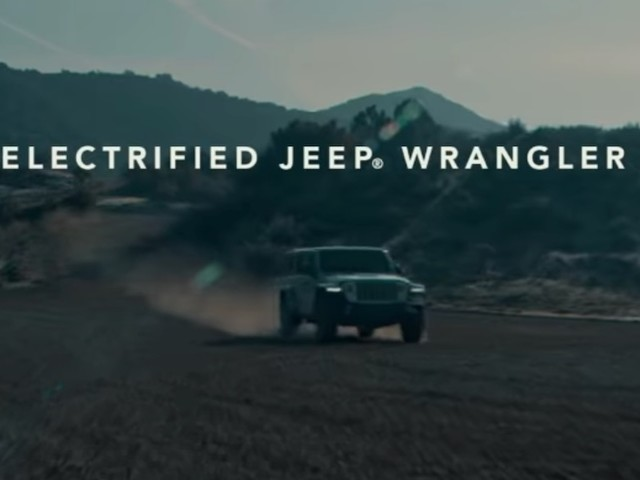 Jeep Wrangler 4xe plug-in hybrid teased