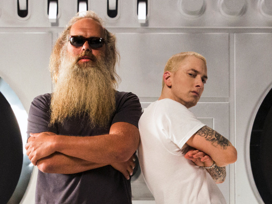 """Eminem on Making of """"Walk on Water"""" on Rick Rubin & Malcolm Gladwell's New Podcast"""
