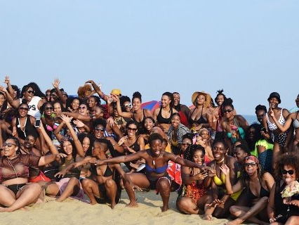 Here's Why #BlackGirlBeachDay Is THE Melanin Meet Up To Attend…And It's Happening On This Historically Black Beach!
