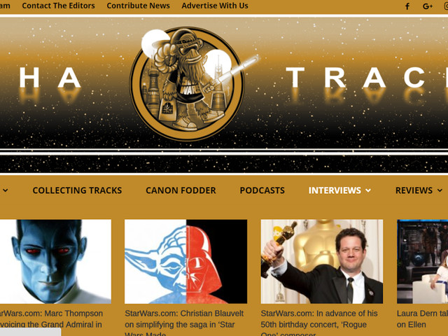 New Star Wars Website Fantha Tracks Launches Today.