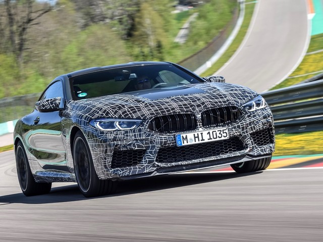 2020 BMW M8 gets a new M Mode and braking system