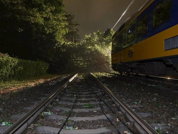 Tot de middag geen treinen tussen Deventer en Apeldoorn door boom op spoor bij Twello