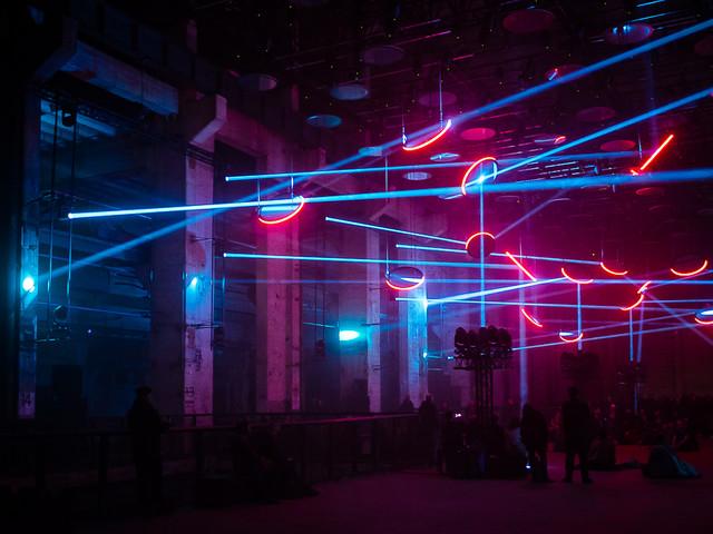 SKALAR – Licht- en audioshow in een voormalige elektriciteitscentrale