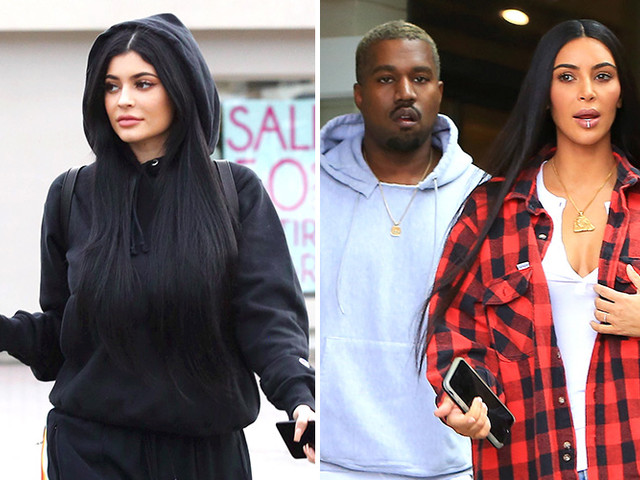 What If Kylie Is Actually Just Kim And Kanye's Surrogate?