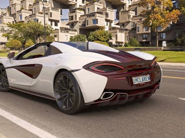 McLaren creates five unique 570S Spiders for Canada