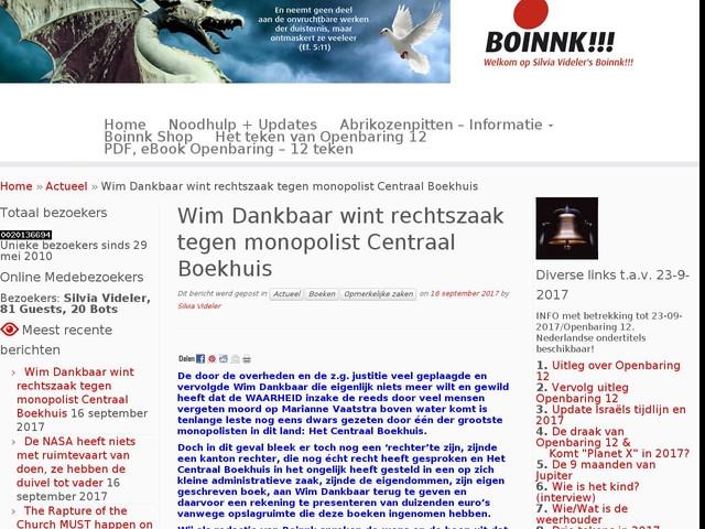 Wim Dankbaar wint rechtszaak tegen monopolist Centraal Boekhuis