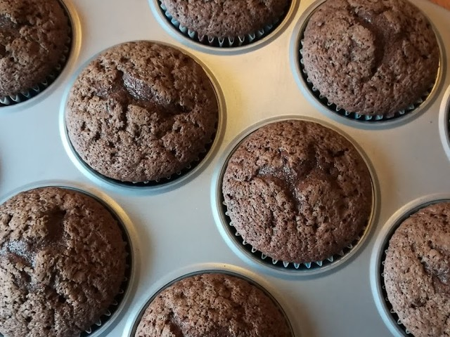 'Wat te doen met chocoladeletters en paaseitjes' cakejes