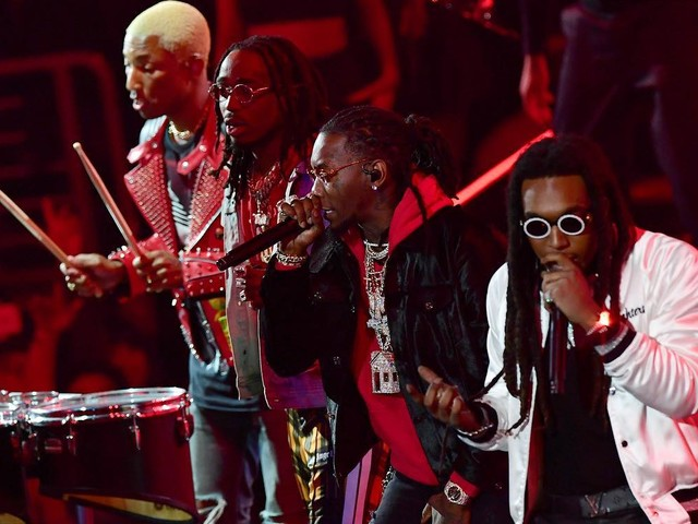 N.E.R.D & Migos Perform At NBA All-Star Game
