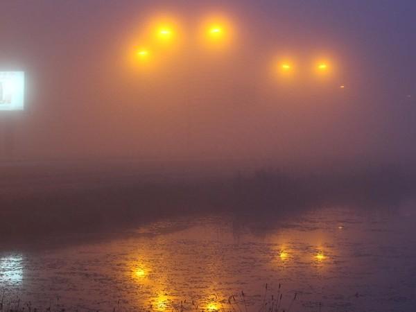 KNMI: code geel door mist in Overijssel