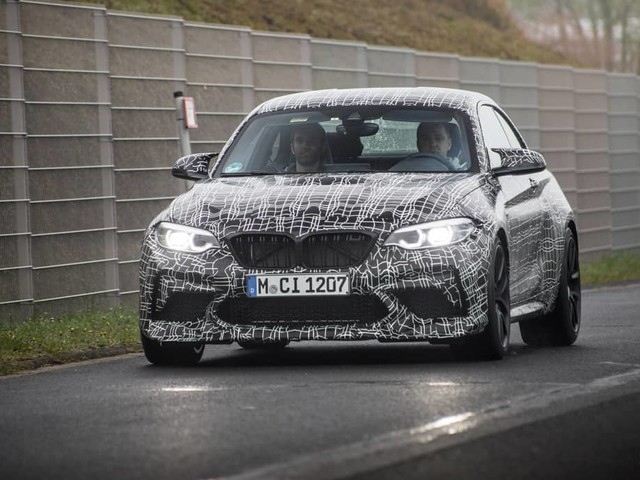 BMW M2 CS with 450 hp and priced as high as 95,000 euros