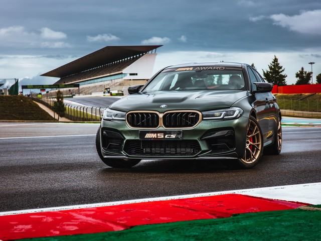 BMW M5 CS to be offered as BMW M Award in MotoGP