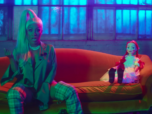 """K. Michelle """"Crazy Like You"""" Video"""