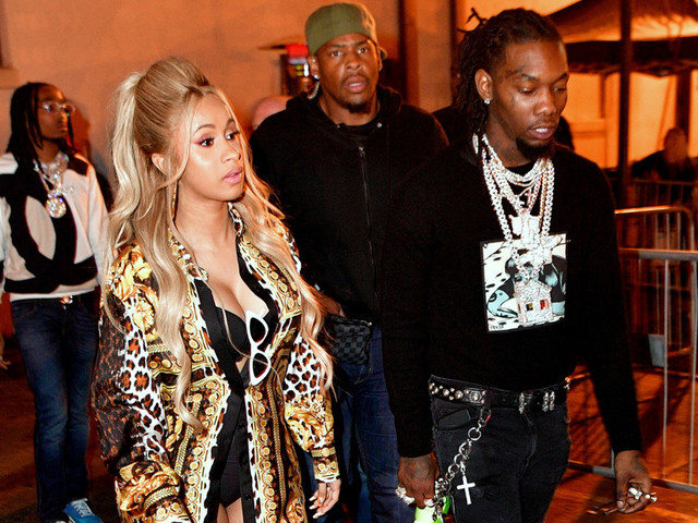 Cardi B Party With Offset: The Migos Turn Up At Album Release In La La Land And Cardi Goes To Ace Of Diamonds