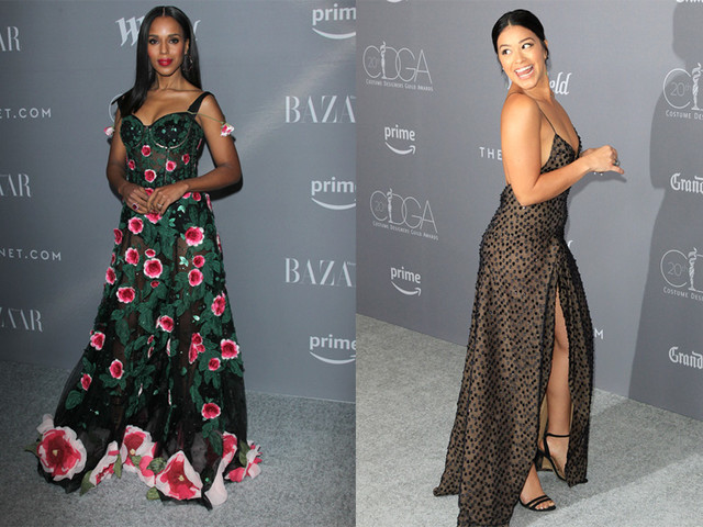 Who Looked More Bangin At The Costume Designers Guild Awards?
