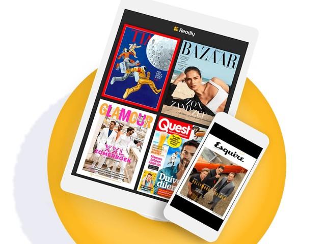Schrijf je in voor Readly en maak kans op een iPad 2018 (ADV)