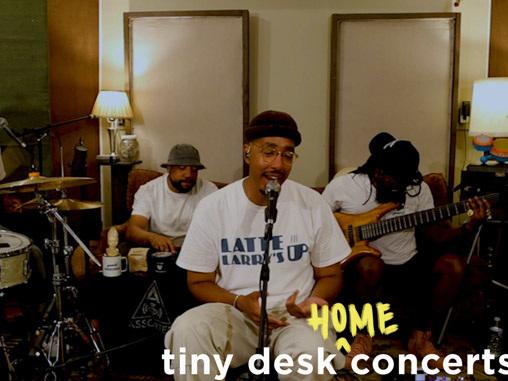 Oddisee's Tiny Desk (Home) Concert