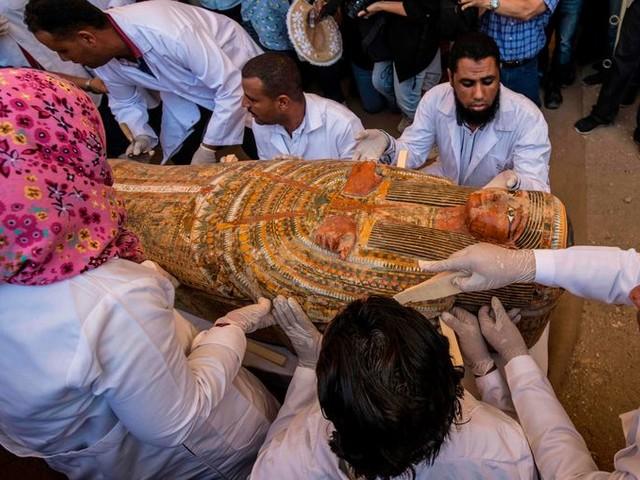Egypte hoopt op toeristen na de vondst van dertig mummies