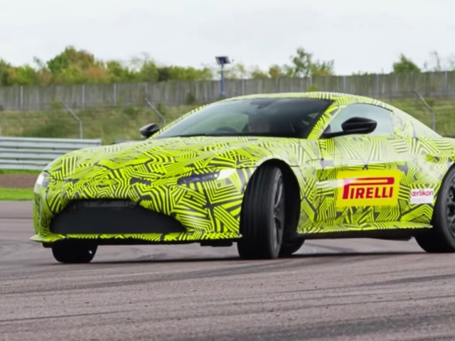 2018 Aston Martin V8 confirmed with just over 500 horsepower