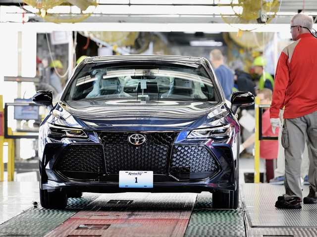 2019 Toyota Avalon production begins in Kentucky