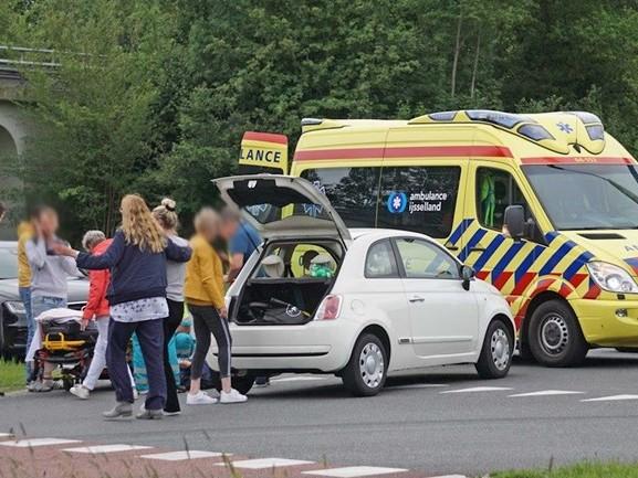 Fietser gewond geraakt bij aanrijding in Dedemsvaart