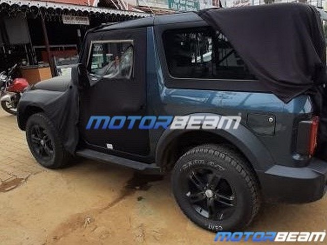 2020 Mahindra Thar Spied Before 15th August Unveil
