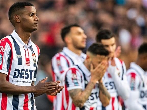 'Ze hebben er alles aan gedaan': gemengde gevoelens bij spelers Willem II na verloren bekerfinale