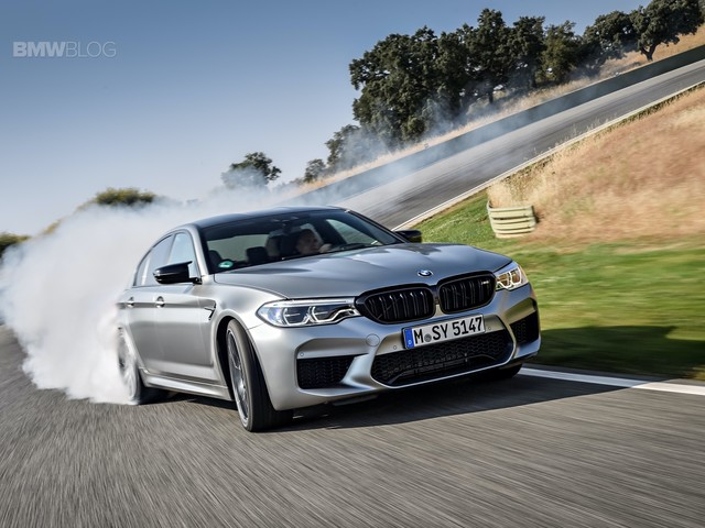 Video: BMW M5 Competition vs Audi RS7 and AMG GT63 S on track