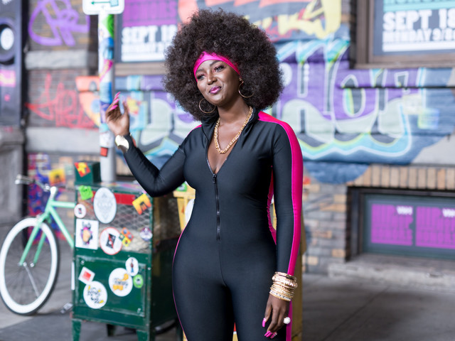 Amara La Negra Twerk Video & Picture With Her Billie D. Williams Looking Dad! [Video]