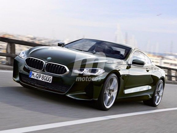 BMW 8 Series Coupe Rendered for production duty
