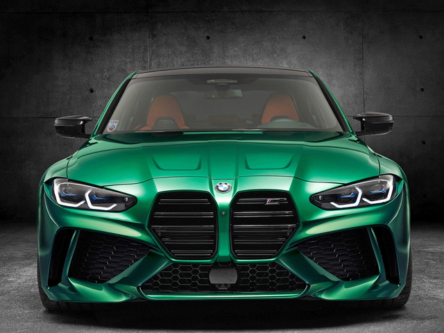G82 BMW M4 Rendered with Smaller Grille — Looks More Aggressive