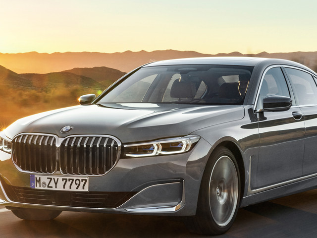 Photo Comparison: Before and After — BMW 7 Series LCI