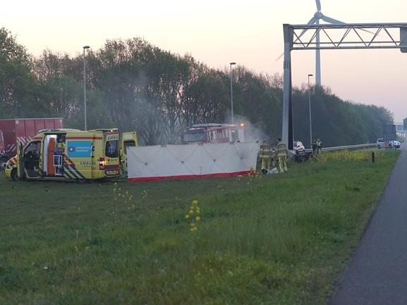 Slachtoffers dodelijk ongeluk A1 Deventer zijn vier jonge mannen, onder wie een Apeldoorner