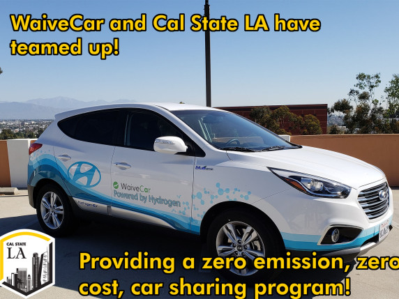Cal State LA wins statewide award for hydrogen fuel cell vehicle program