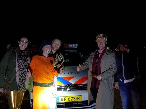 Olland opgeschrikt door ontvoering Madame Sjenet, politie rukt massaal uit
