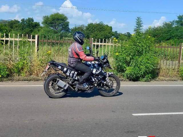 KTM 250 Adventure Spied On Test