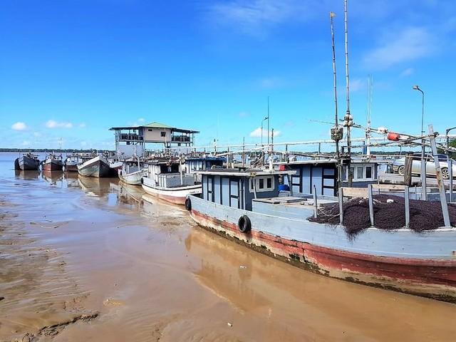 Surinaamse vissers vrezen voor piraten en Chinezen