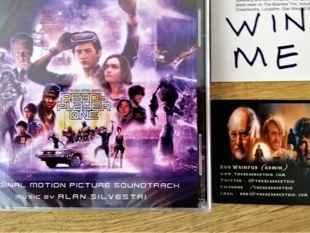 Competition: Win The Ready Player One 2CD Soundtrack