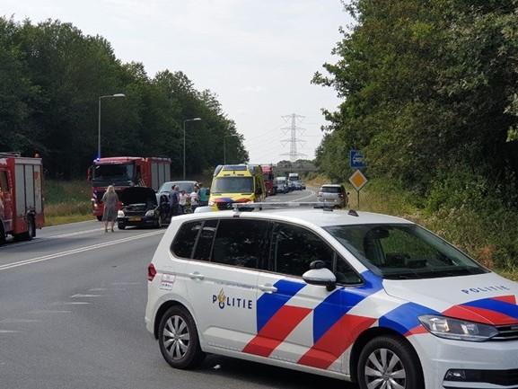N35 bij Enschede in beide richtingen dicht