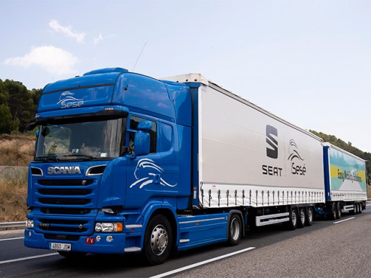 SEAT expands the fleet of duo trailers and giga trailers to promote more sustainable logistics
