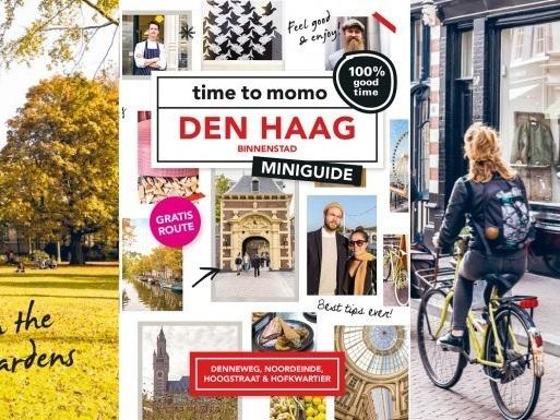 Haagse binnenstad heeft eigen Time to Momo miniguide
