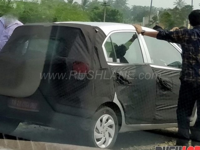 2018 Hyundai Santro Replacement Spotted Testing