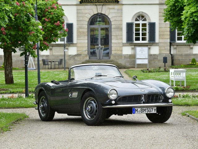 BMW 507 Roadster Confirmed to Attend Rétromobile 2019 in Paris