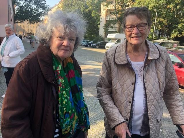 Berlijn bij het stemlokaal: 'Door Scholz hebben we weer vertrouwen in de SPD'