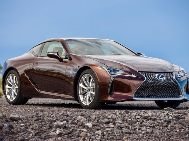 Lexus LC F could get a 621-hp twin-turbo V8