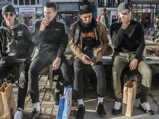 Tabakstaks wegens straatvervuiling