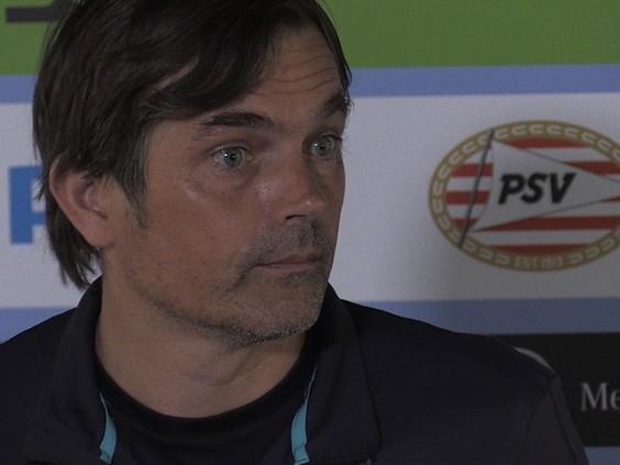 Phillip Cocu wil een beter PSV 'aan de bal' om ook Excelsior te kunnen verslaan
