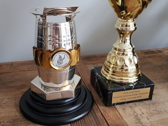 'Alles viel op zijn plek', Dirk Kouwenberg straalt na winnen Brabants kampioenschap tonpraten